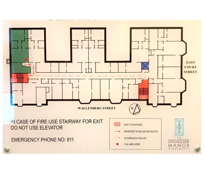 Sylvester Manor Floorplan